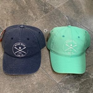 NWT set of 2 Mission Beach Surf Co hats